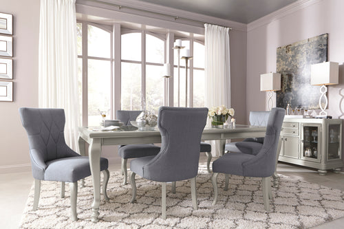 Coralayne - 7 Piece Dining Set - D650 - Ashley Furniture