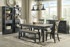 Tyler Creek - 6 Piece Dining Table Set - D736 - Signature Design by Ashley Furniture