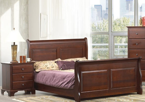 Georgian Bay - Solid Wood Bed - Made in Canada