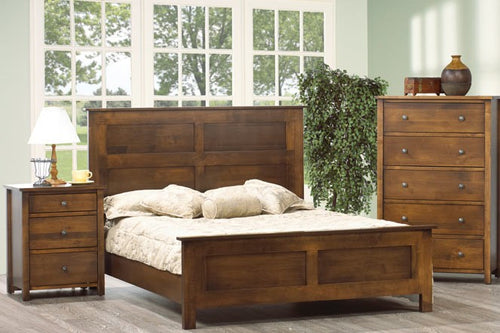 Harbourside - Solid Wood Bed - Made in Canada
