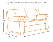 Load image into Gallery viewer, Bladen - Love Seat - 1200035 - Signature Design by Ashley Furniture