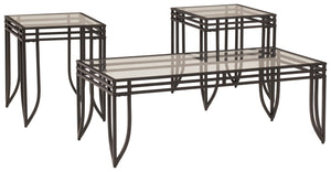 Exeter - Coffee Table Set - T113-13 - Ashley Furniture