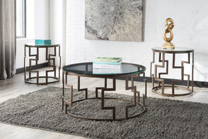 Frostine - 3 Piece Table Set - Contemporary - T138 - Ashley Furniture Signature Design