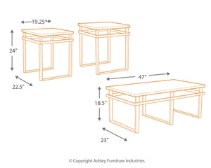 Laney - Coffee Table Set - T180-13 - Ashley Furniture