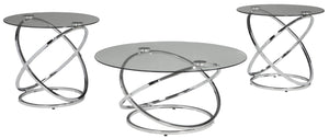 Hollynyx - 3 Piece Coffee Table Set - Contemporary - T270 - Ashley Furniture Signature Design