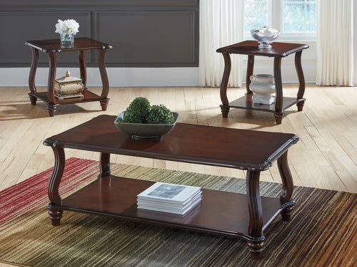 Carshaw - 3 Piece Coffee Table Set - Occasional - T339 - Ashley Furniture Signature Design