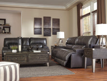 Load image into Gallery viewer, McCaskill - Wide Power Recliner Sofa - Adjustable Headrest - U6090052 - Ashley Furniture