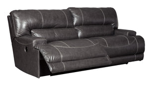 McCaskill - Wide Power Recliner Sofa - Adjustable Headrest - U6090052 - Ashley Furniture