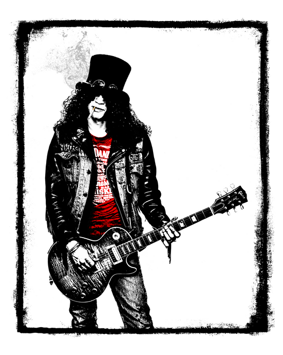 Slash, 1987 - rocksceneart