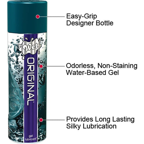 Wet Original Lubricant Gel Body Glide