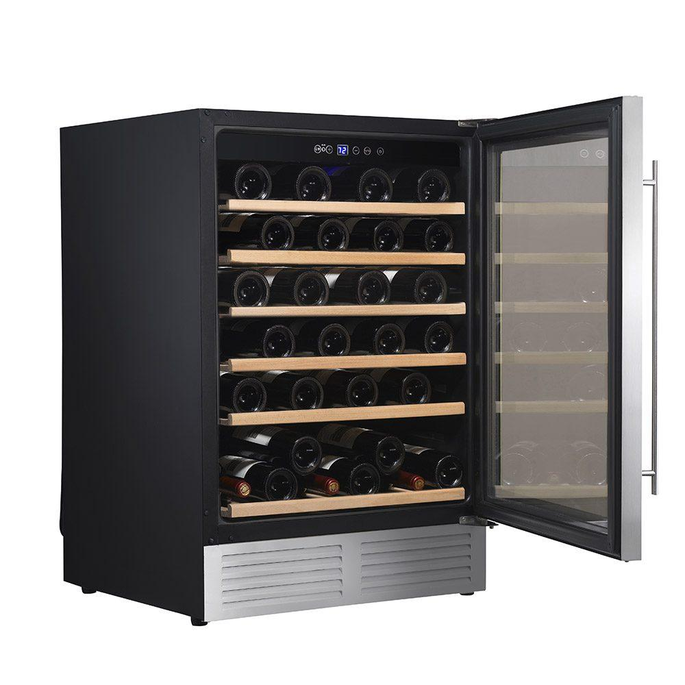 Climadiff - CLE51 - Single Zone - Built In Wine Cellar / Wine Cooler - 51 Bottles - 595mm Wide - winestorageuk