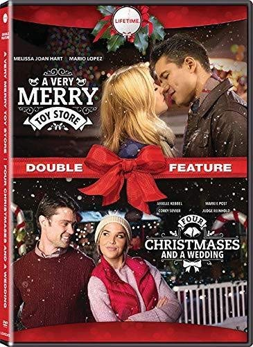 A Very Merry Toy Store / Four Christmases And A Wedding Double Feature DVD