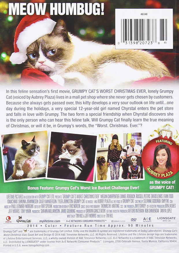 Grumpy Cats Worst Christmas Ever DVD