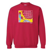 Lifetime Movies Strangers and Secrets Fleece Crewneck Sweatshirt