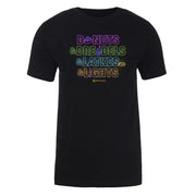 Lifetime Holiday Donuts & Dreidels & Latkes & Lights Adult Short Sleeve T-Shirt