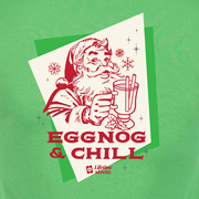 Lifetime Movies Holiday Eggnog & Chill Adult Short Sleeve T-Shirt