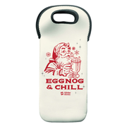 Lifetime Movies Holiday Eggnog & Chill Wine Tote