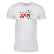 Lifetime Movies Holiday Full of Holiday Spirits Adult Short Sleeve T-Shirt