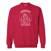 Lifetime Holiday Gingerbread House Party Fleece Crewneck Sweatshirt