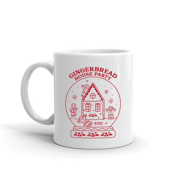 Lifetime Holiday Gingerbread House Party White Mug