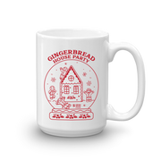 Lifetime Movies Holiday Gingerbread House Party White Mug
