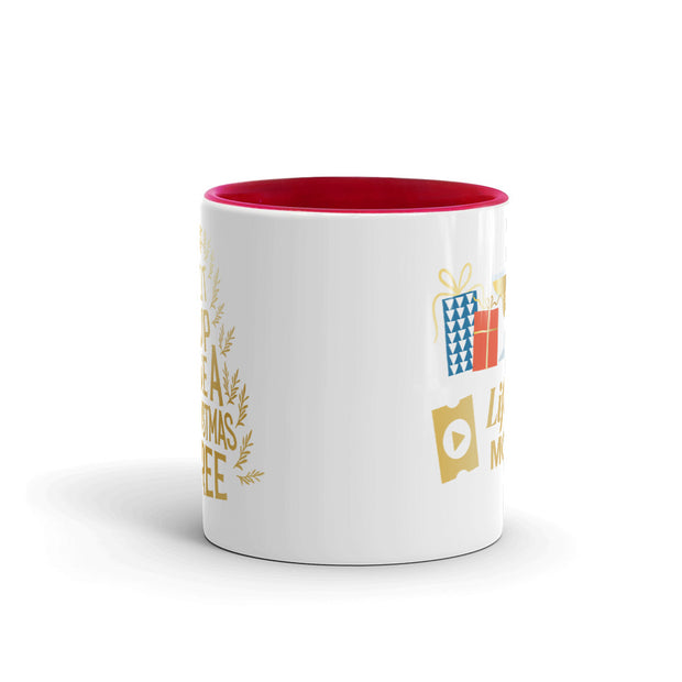 Lifetime Movies Holiday Lit Up Like A Christmas Tree Two-Tone Mug