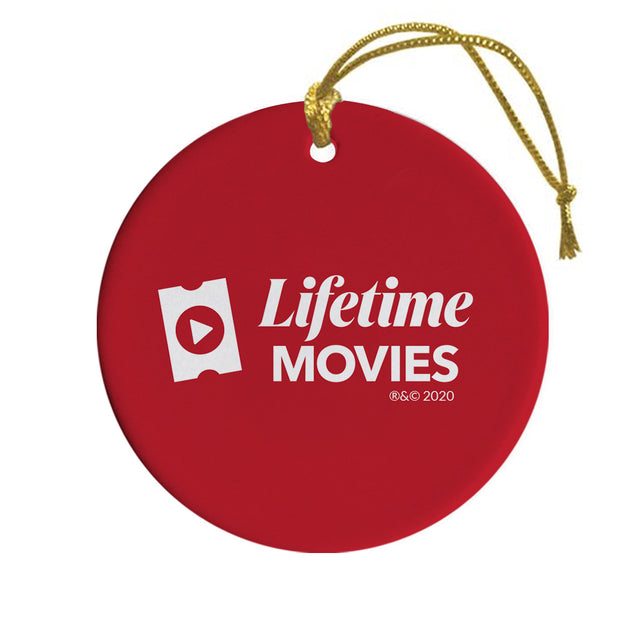 Lifetime Movies 'Tis The Season Double-Sided Ornament