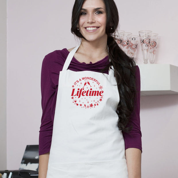 It's a Wonderful Lifetime Apron