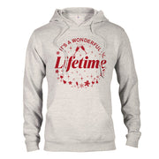 It's a Wonderful Lifetime Fleece Hooded Sweatshirt