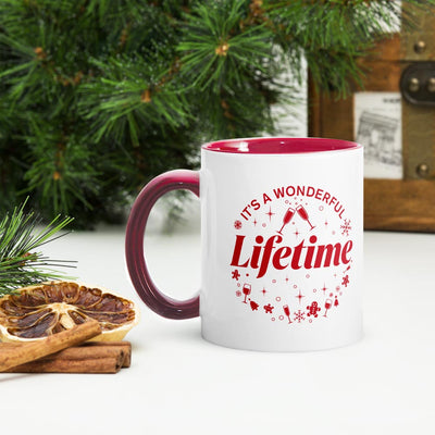 It's a Wonderful Lifetime Two-Tone Mug