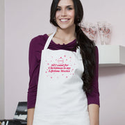 Lifetime All I Want For Christmas is My Lifetime Movies Apron