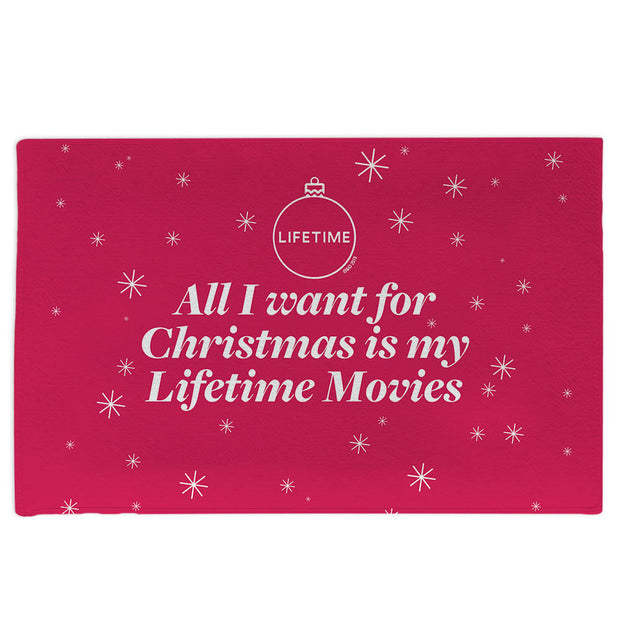 Lifetime All I Want for Christmas is My Lifetime Movies Doormat