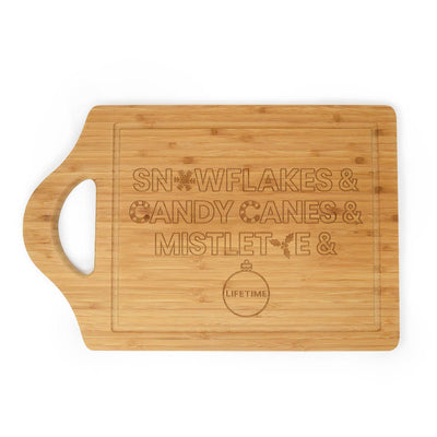 Lifetime Holiday Ampersand Cutting Board