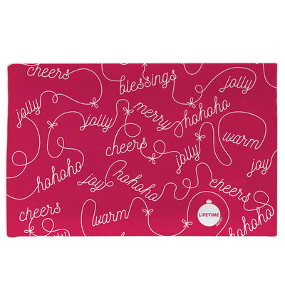 Lifetime Holiday Cheer Doormat