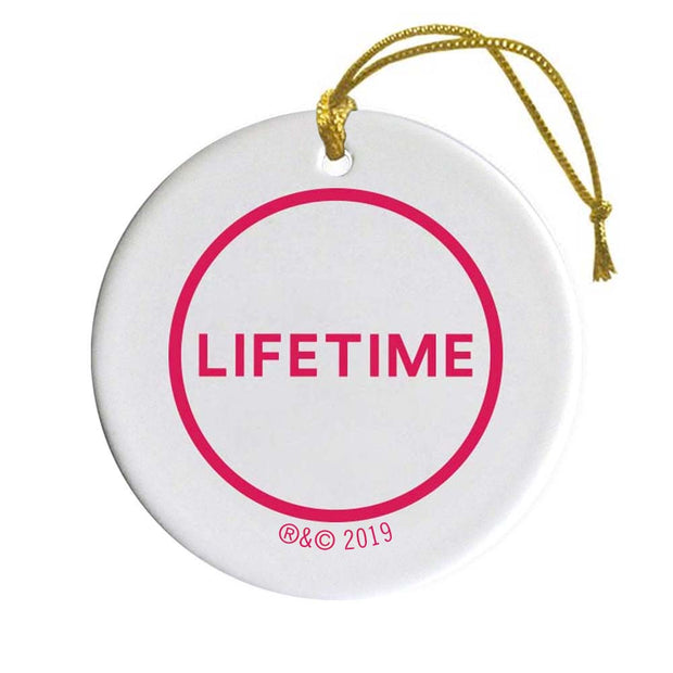 Lifetime Happy Holidays Double-Sided Ornament