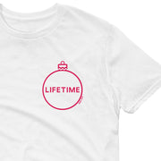 Lifetime Holiday Logo Adult Short Sleeve T-Shirt