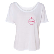 Lifetime Holiday Logo Women's Relaxed T-Shirt