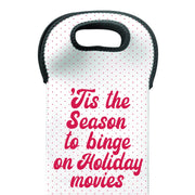 Lifetime 'Tis The Season Wine Tote Bag
