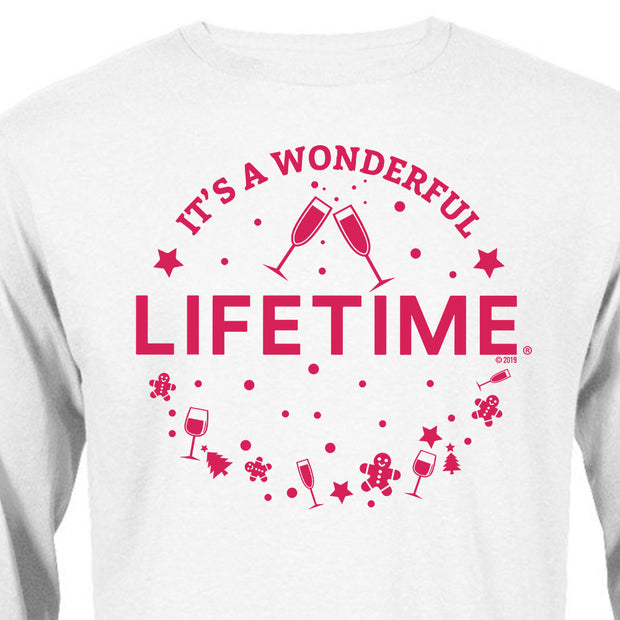 Lifetime It's a Wonderful Lifetime Adult Long Sleeve T-Shirt
