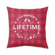 Lifetime It's a Wonderful Lifetime Pillow