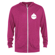 Lifetime It's a Wonderful Lifetime Tri-Blend Zip-Up Hooded Sweatshirt