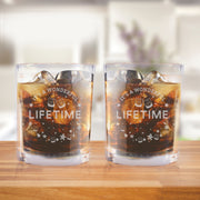 Lifetime It's a Wonderful Lifetime Rocks Glasses - Set of 2