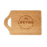 Lifetime It's a Wonderful Lifetime Cutting Board
