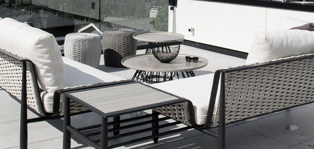 Transform your patio, into a outdoor living area.  Create new outdoor rooms, with the luxury of indoor spaces.