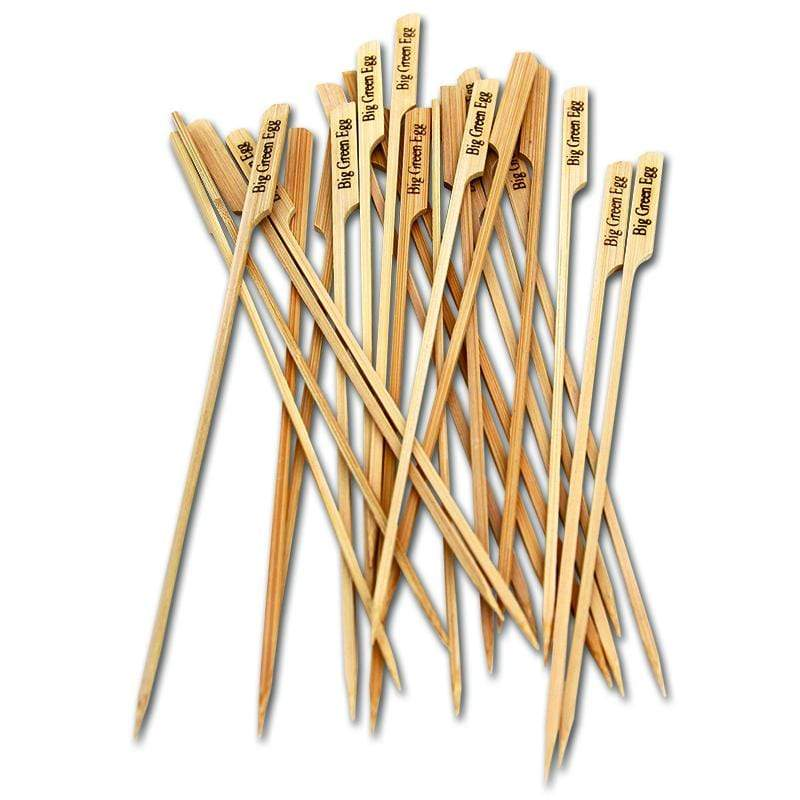 Big Green Egg Barbeque All-Natural Bamboo Skewers