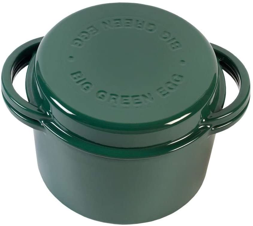 Big Green Egg Barbeque Casserole Dish w/ Lid (4.2 qt)