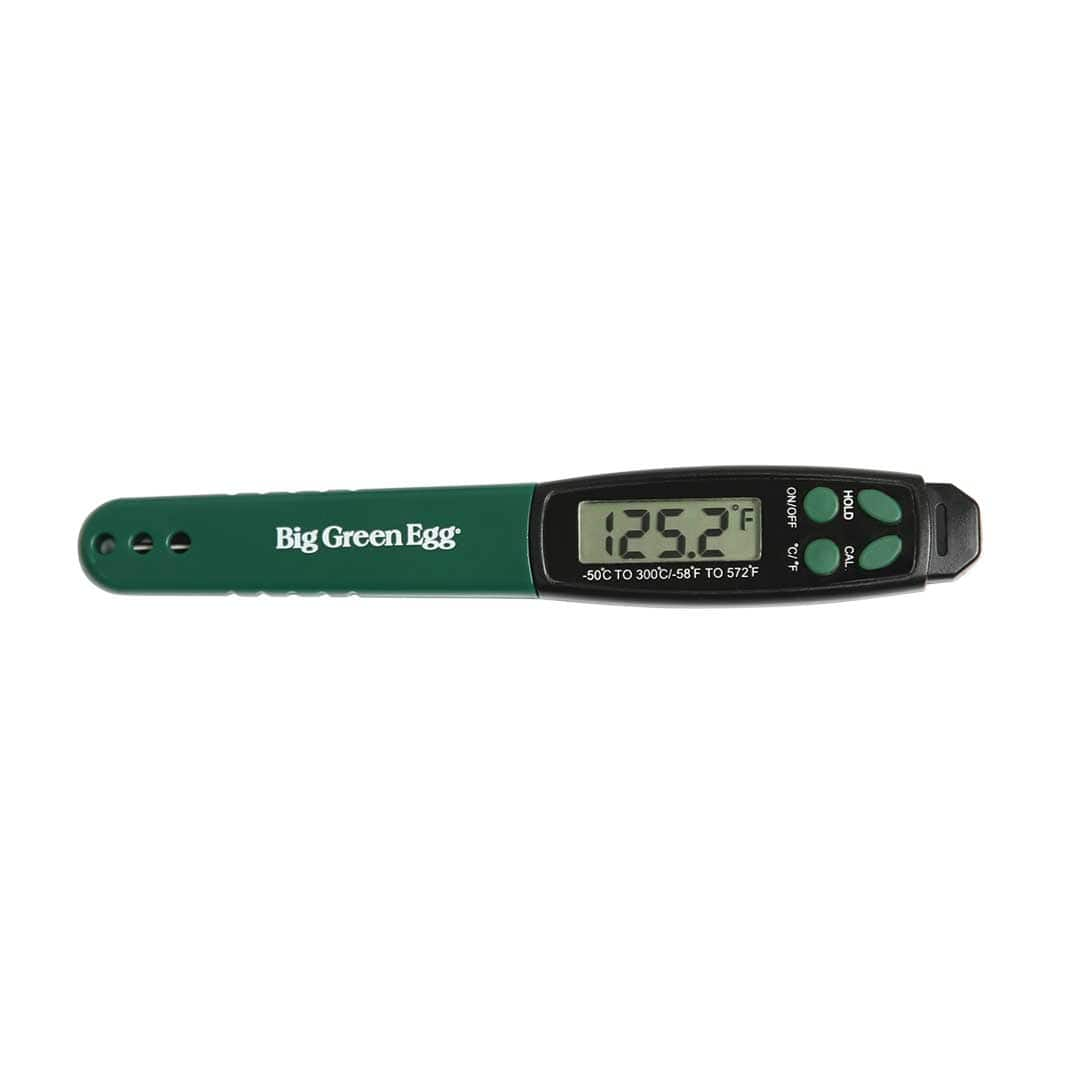 Big Green Egg Barbeque Quick Read Digital Themometer