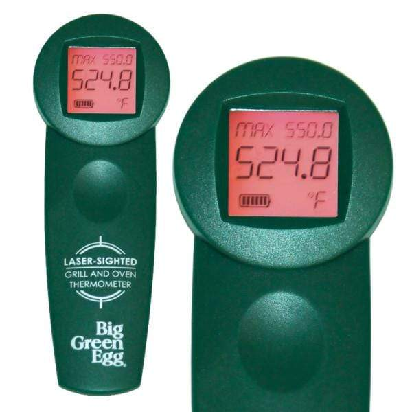 Big Green Egg Barbeque Temperature Gauge – Infrared Cooking Surface Thermometer