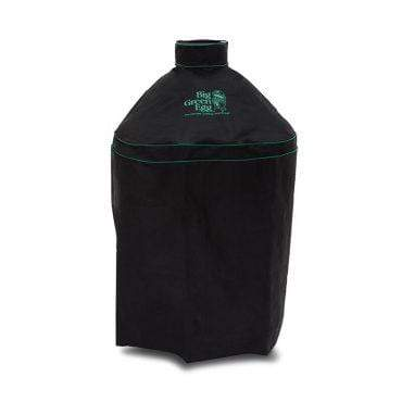 Big Green Egg Barbeque Ventilated Cover w/ Piping (M)
