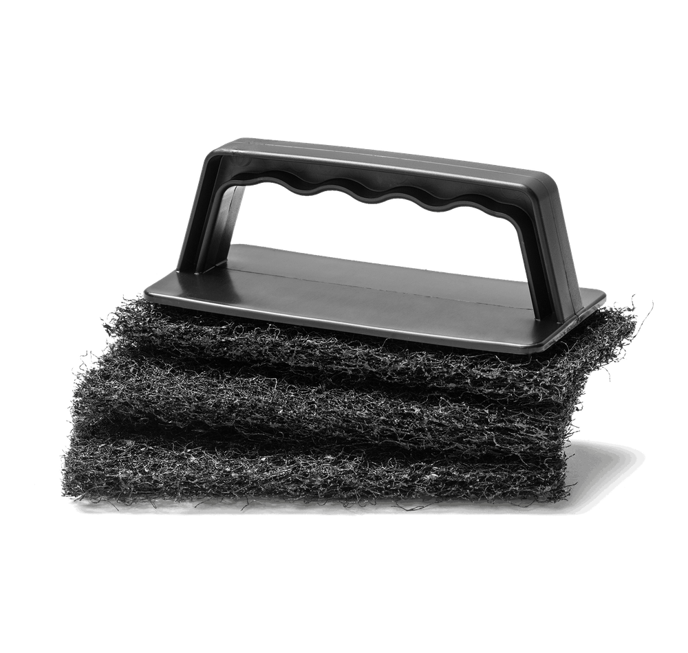 Big Green Egg Barbeque Weber Grate Grill Scrubber